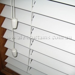 White Ecowood Venetian Blinds