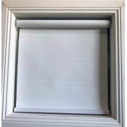 Blockout White Blinds - Pampas